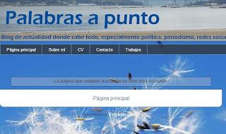 Mensaje de error en blogspot.com
