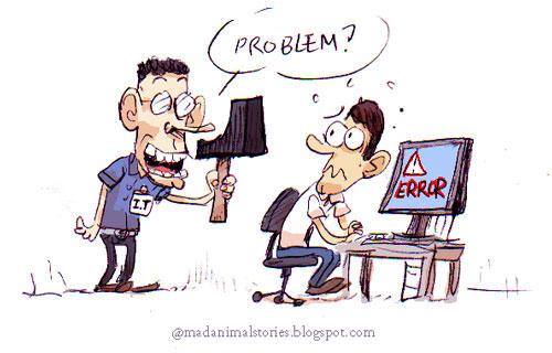 probleme informatique