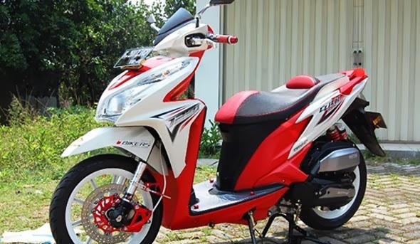 Kumpulan Beberapa Foto dan Gambar Modifikasi Honda Vario Techno 125 keren terbaru
