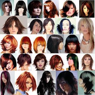 Membuat Model Rambut  Sesuai Bentuk Wajah, gaya rambut