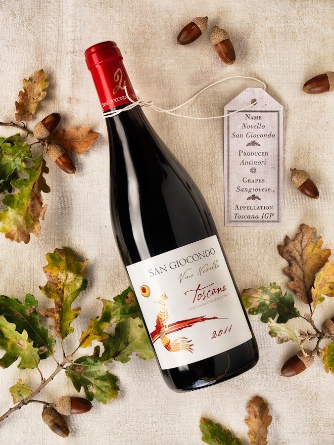 vino wine Novello San Giocondo Antinori