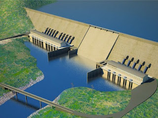 Ethiopia Dam on Nile