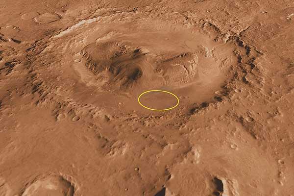 Resultado de imagen de El 6 de agosto de 2012, el Curiosity se posó en el cráter Gale