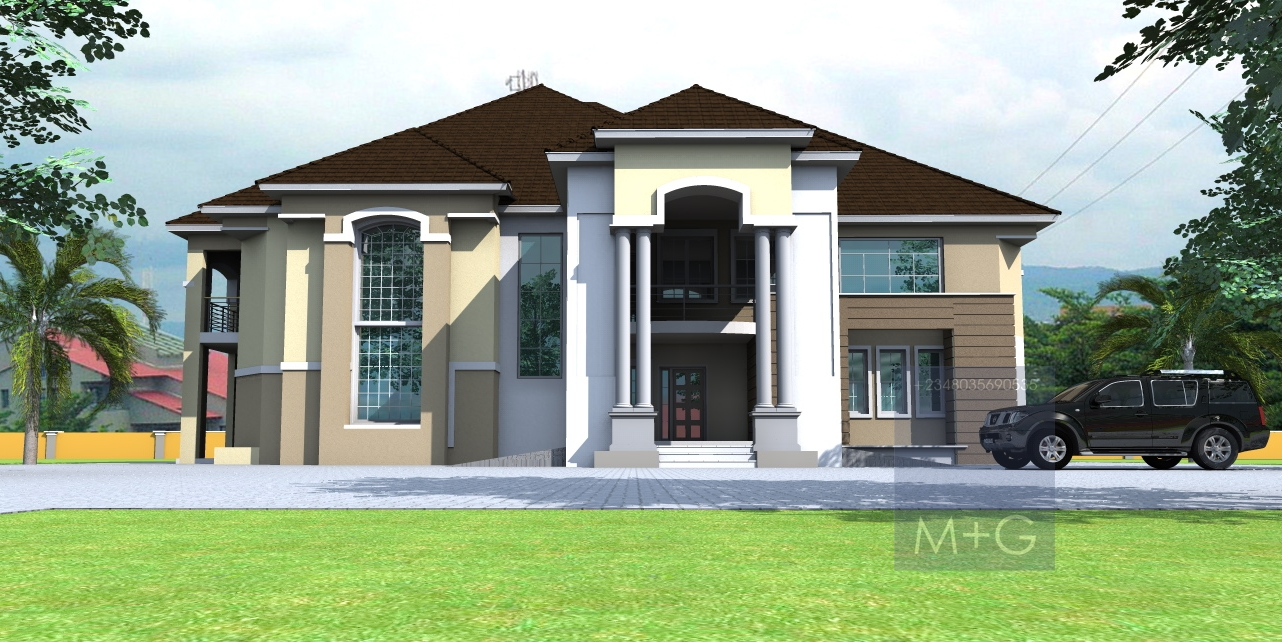 Contemporary Nigerian Residential Architecture 6 Bedroom