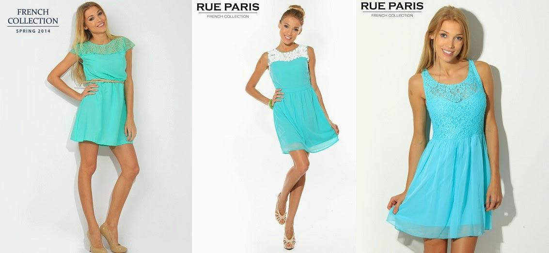 Miętowe sukienki + II tura wyprzedaży