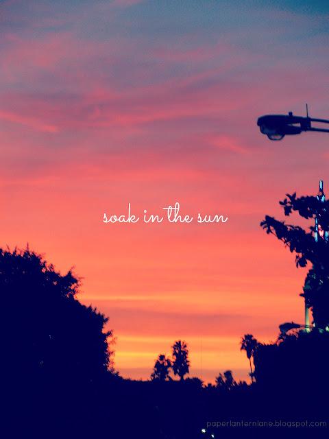 Los Angeles Sunset- Westwood