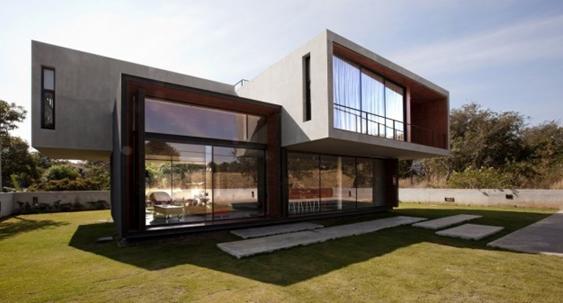 Fachadas de Casas Modernas – Casas sem telhado - Decor ...