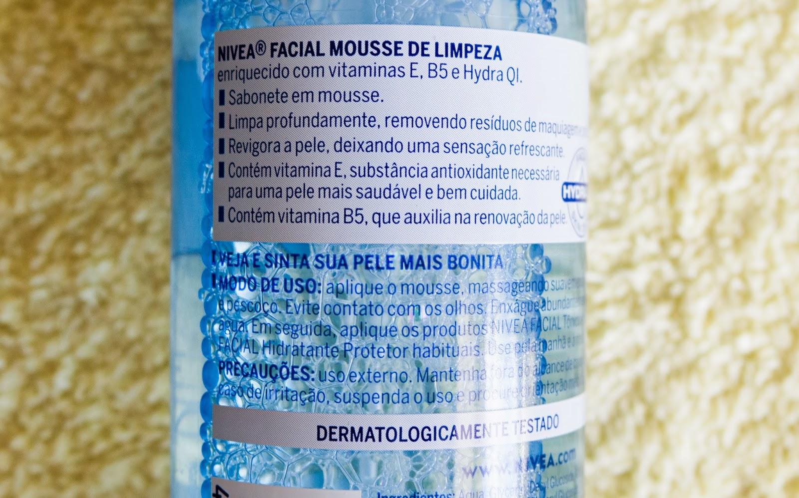 NIVEA - LIMPEZA - BLOG LIMA INFINITY