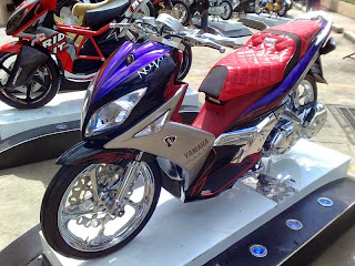 Modifikasi Yamaha Nouvo Terbaru