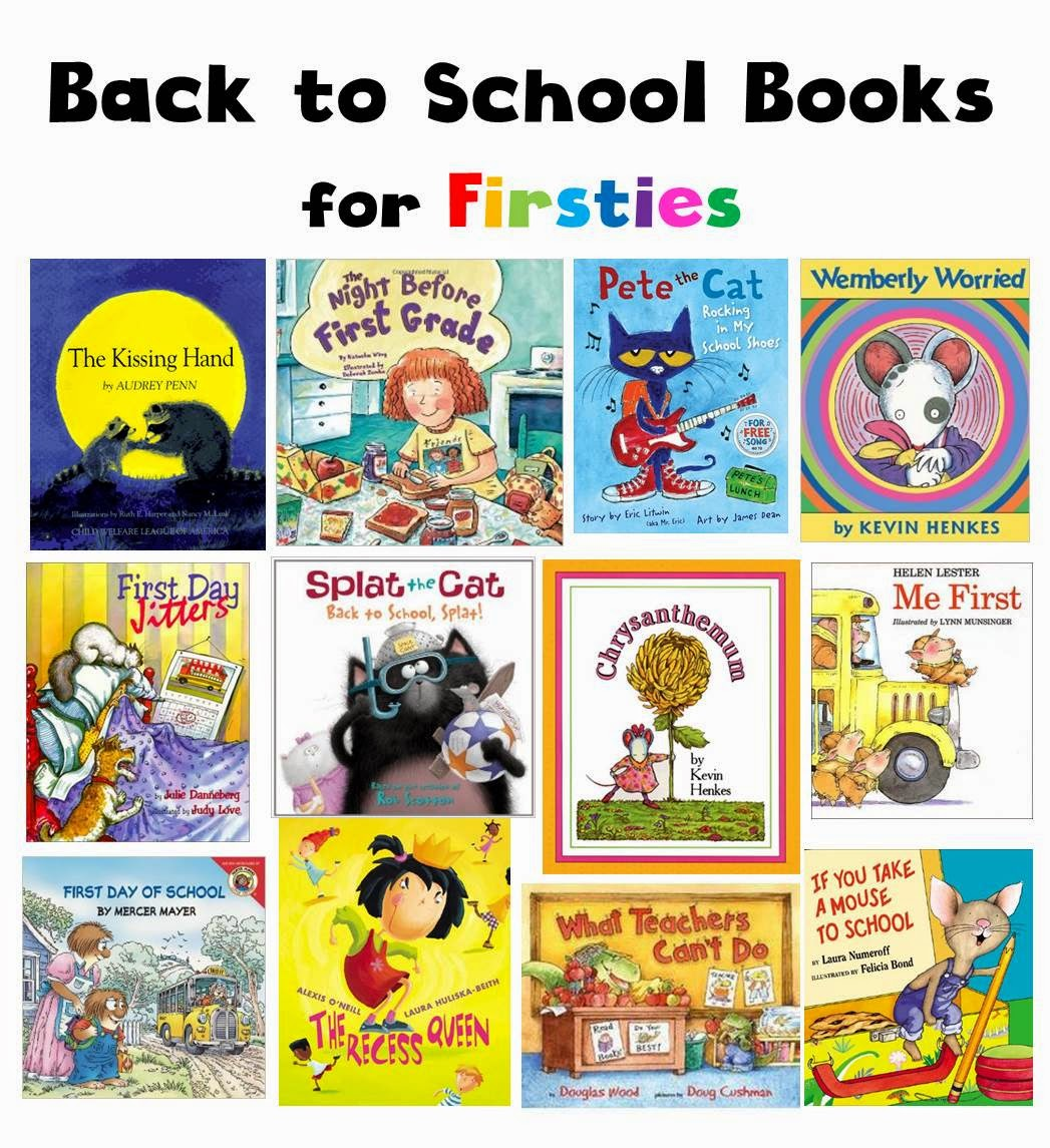 Tiny Teaching Shack Favorite Back To School Books For First Graders