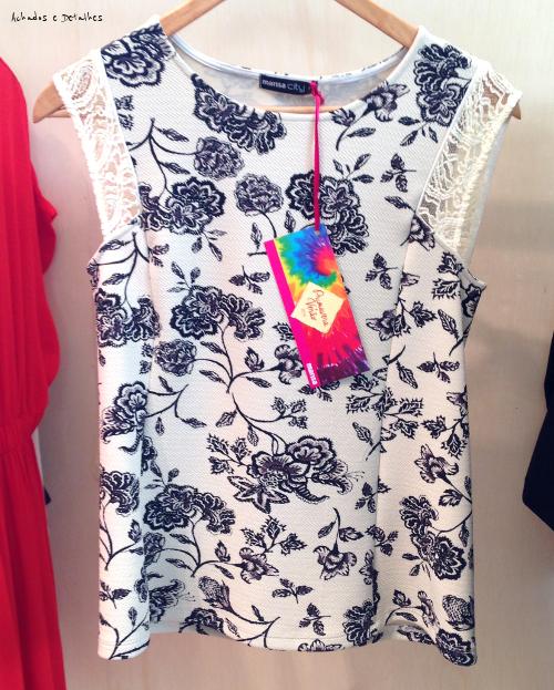 Blusa Floral Marisa