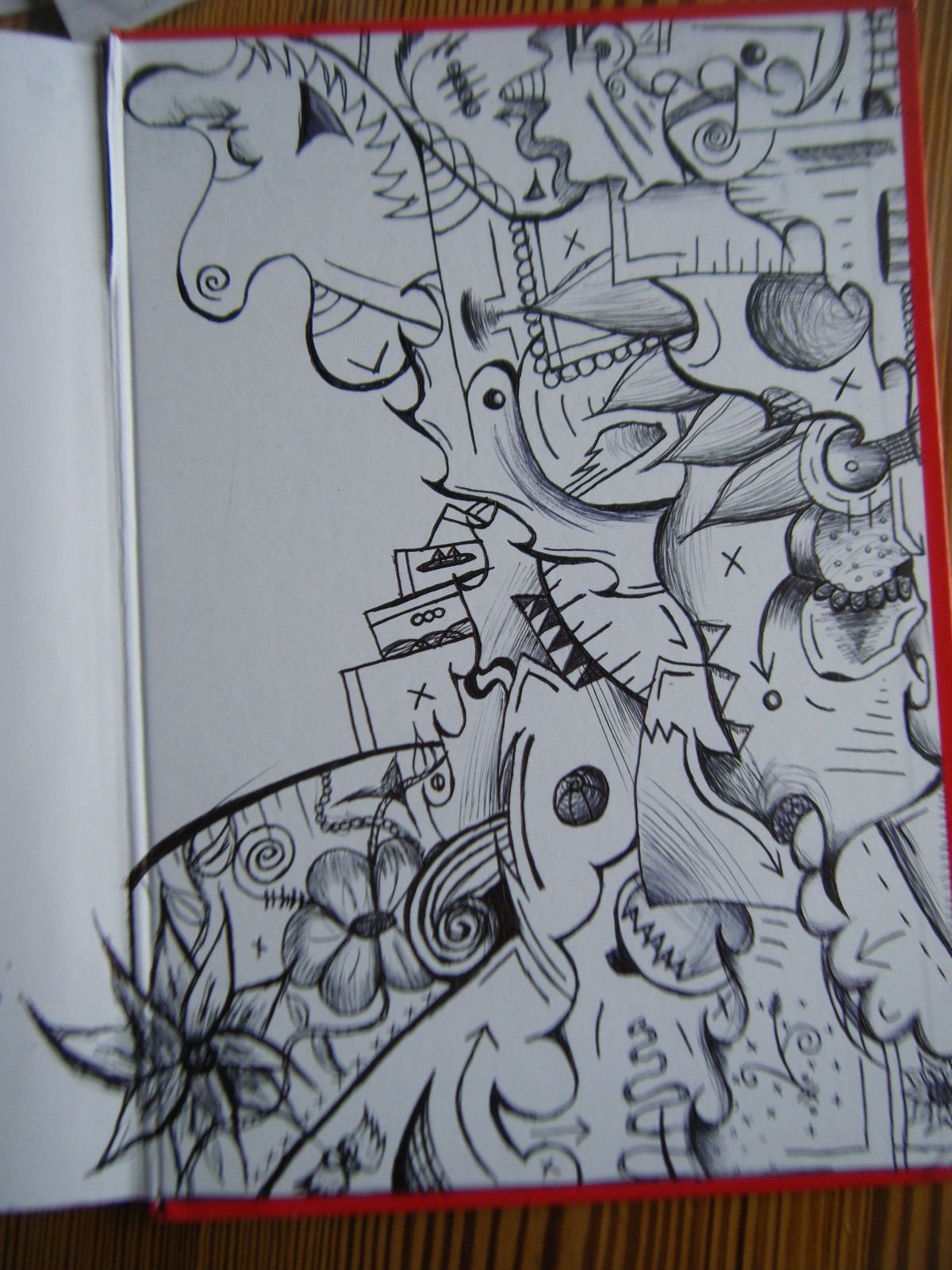 Graffiti Style Doodles.: Graffiti Style Doodles. Awesome Doodles Drawings