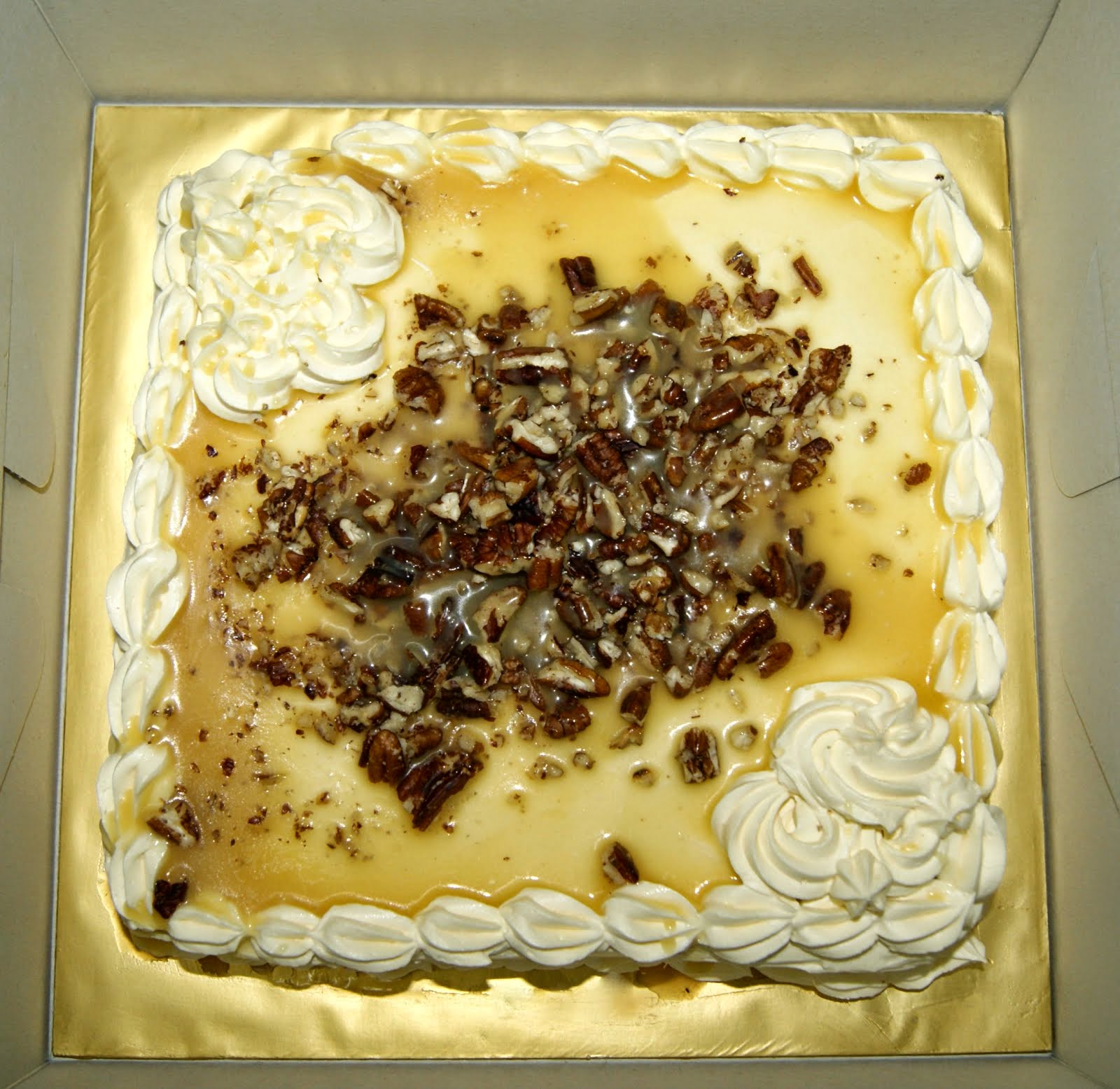 Pecan Butterscotch Cake