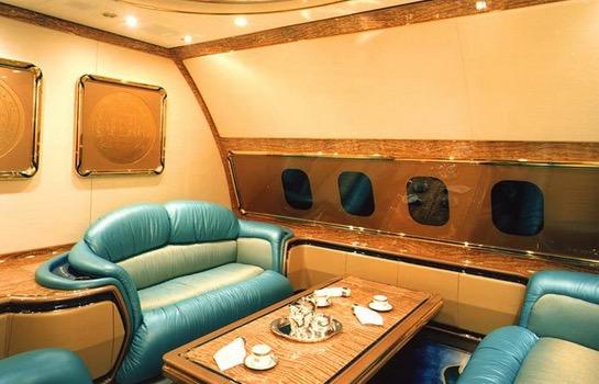 Kemewahan Pesawat Peribadi Sultan Brunei
