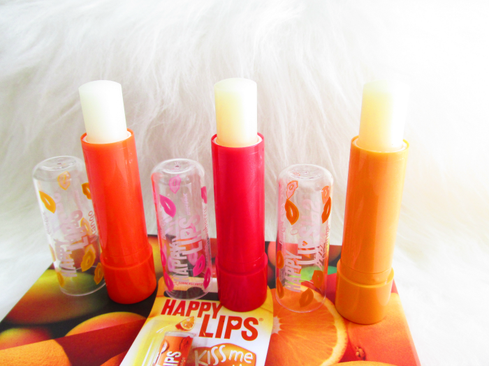 Review: Blistex Happy Lips Mango, Strawberry, Orange