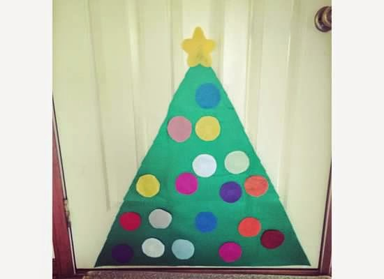 Preschool Christmas activity