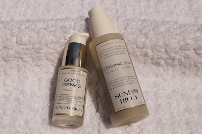 Sunday Riley Good Genes and Ceramic Slip Cleanser