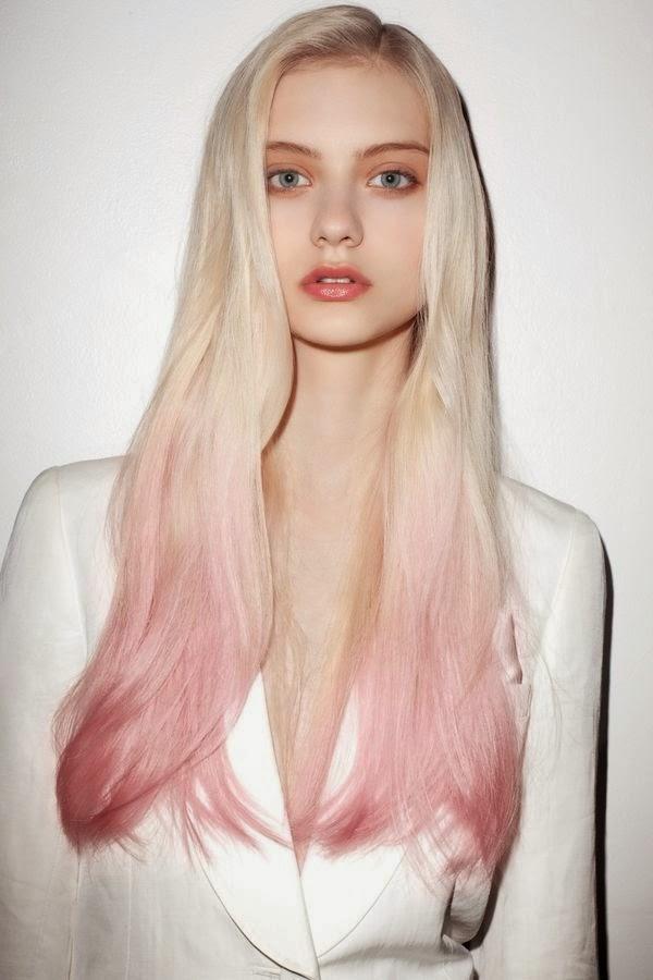 haarkleur roze