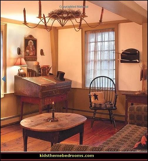 Decorating theme bedroomsMaries Manor primitive americana