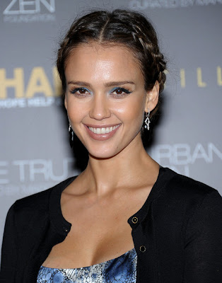Jessica Alba Braided Hairstyles
