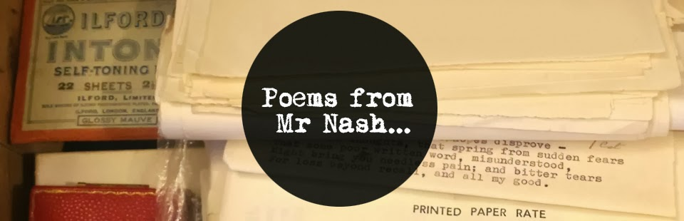 Poems from Mr Nash