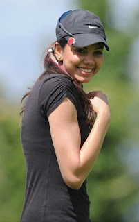 Hot Indian Golfer Sharmila Nicollet