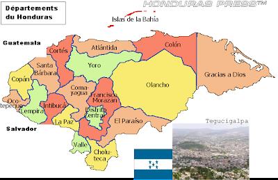 Honduras - Aspectos Geográficas y Sociales de Honduras