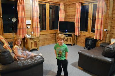 Calvert trust log cabin review, Kielder
