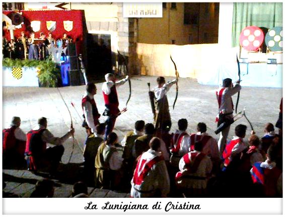 La Lunigiana di Cristina - Disfida degli Arcieri a Fivizzano