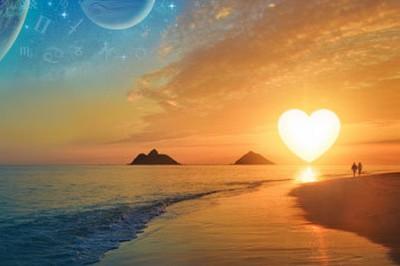 закат любовь фото