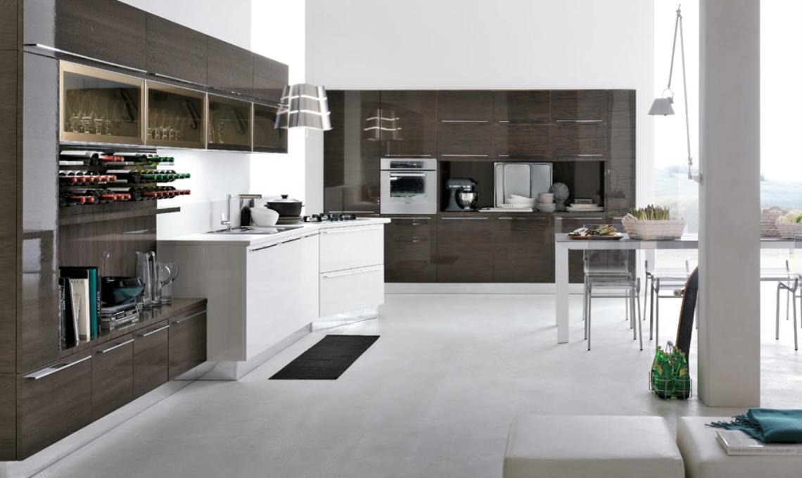 Closets puertas cocinas integrales muebles minimalistas for Cocinas de lujo