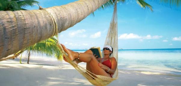 Descansar en sus hermosas playas