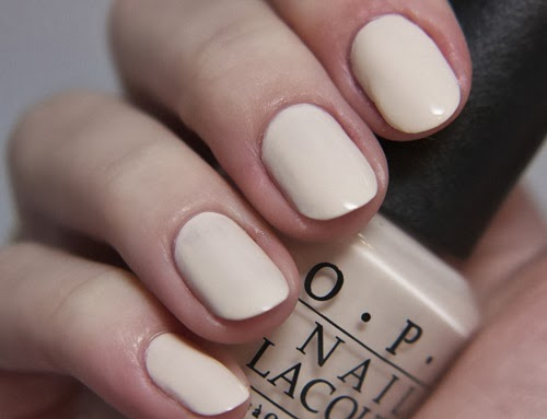 off white nail polish trend 2014