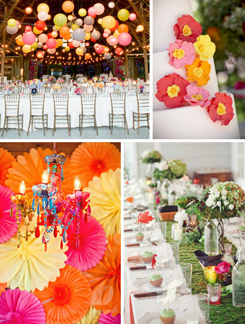 Janeika 39 s blog if you 39re thinking about creating a - Yellow and orange wedding decorations ...