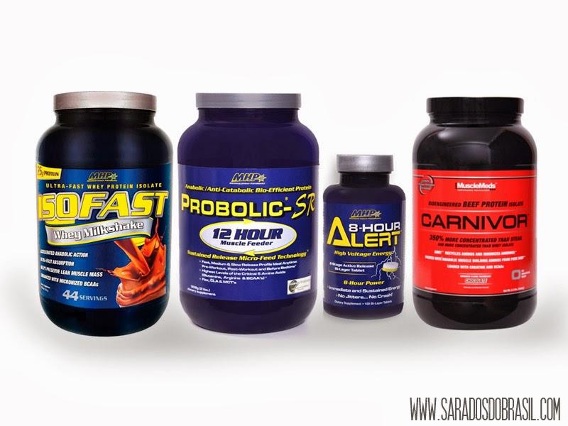Suplementos alimentares da MHP e da Muscle Meds - Reprodução