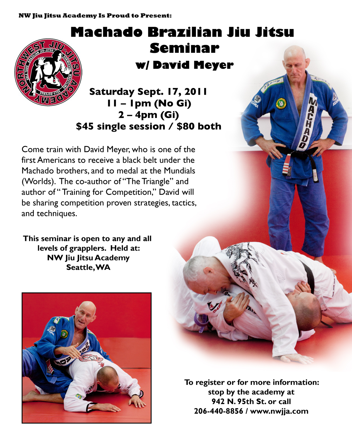 Self Defense Flyer Templates Last call on the seminar with