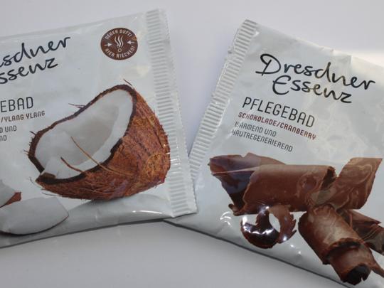 Dresdner Essenz Pflegebad Kokos&Chocolade.