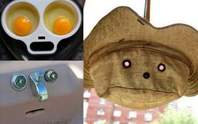 objet a tete humaine originale