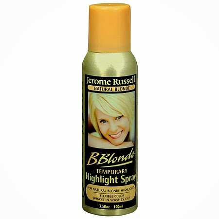 Jerome Russell B Blonde Temporary Highlight Spray - Temporary Hair Color Spray Recommended