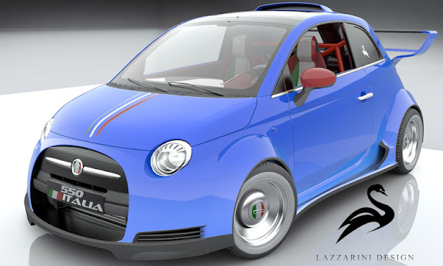 Fiat, Auto Reviews, Sport,Fiat 500 Cars, Ferrari-Powered
