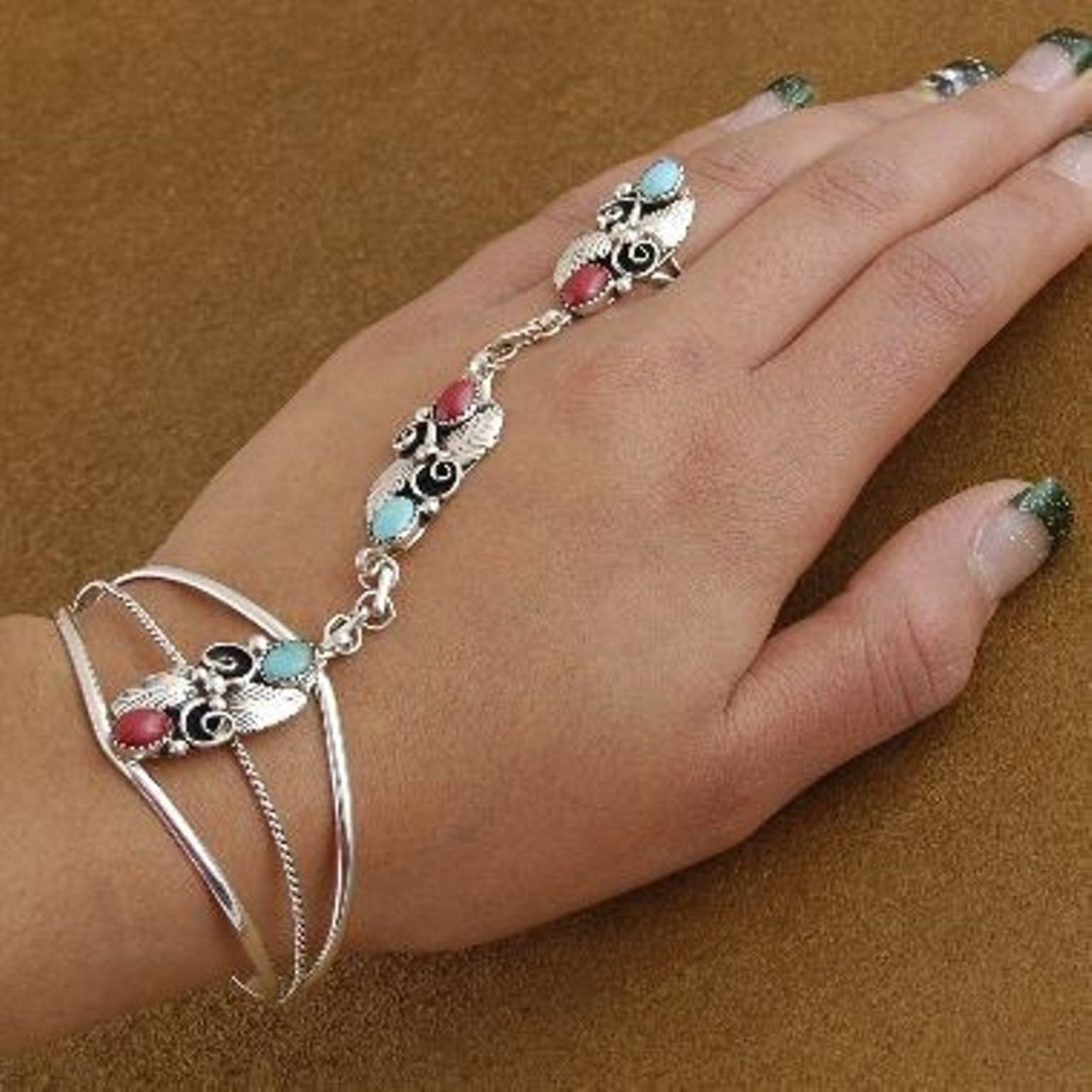Dynamic Views: Best Chain Ring Bracelet Jewelry Collection ...