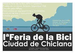 la feria de la bici, ciudad de chiclana