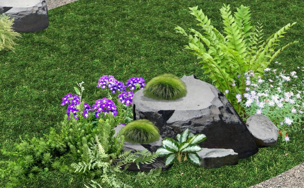 diseño de jardines japoneses contemporaneos rocallas foto 1