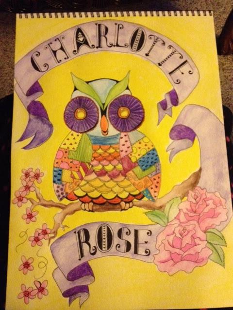 Charlotte Rose Owl step 4 COMPLETE!