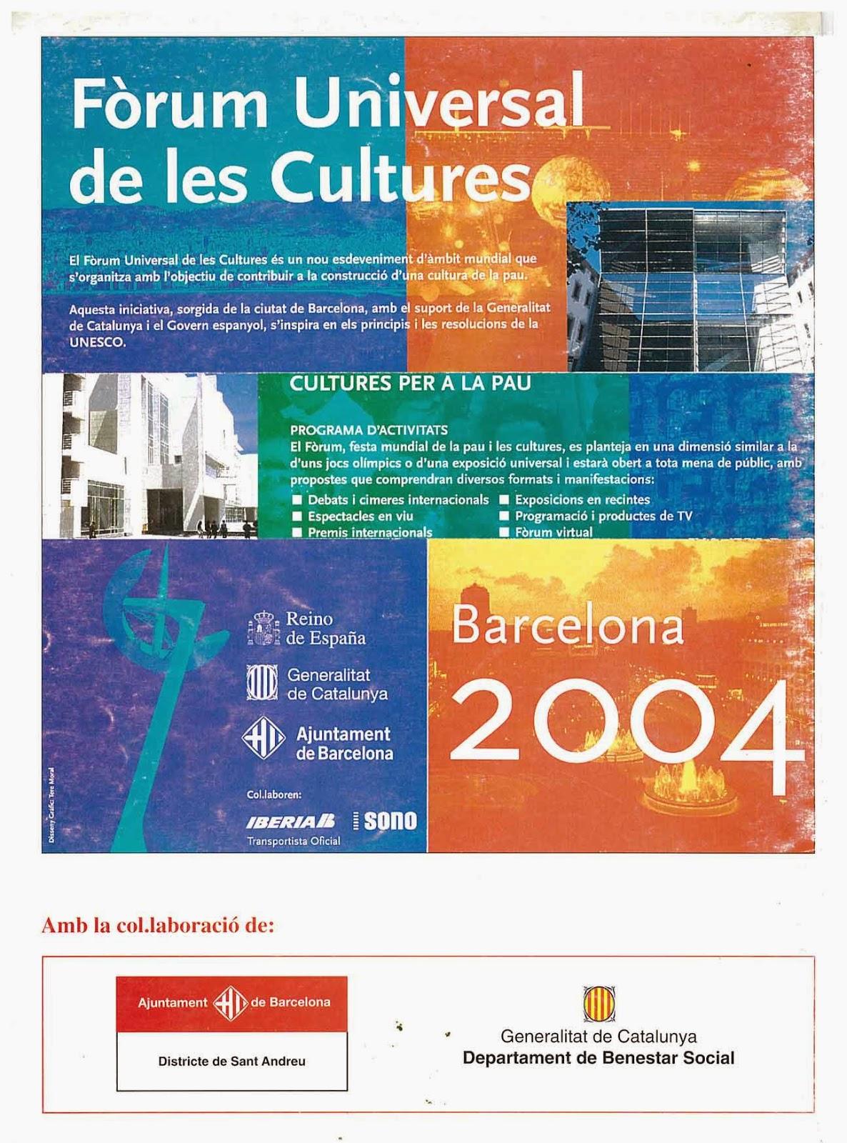 forum universal de las culturas