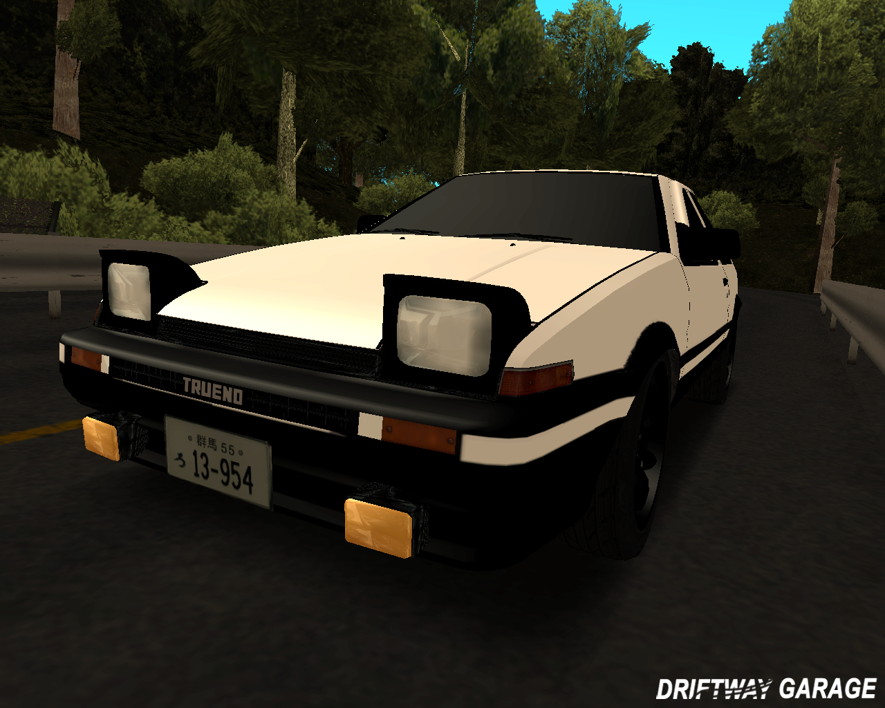 Did Toyota Make New Cars For Initial D