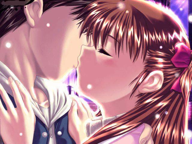 Imagenes Anime romanticos muy buenos Anime%2BBeso