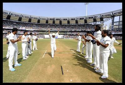 Sachin's Last Test
