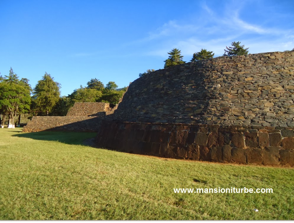Yacatas Pyramids in Tzintzuntzan