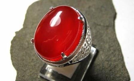 Batu akik Darah Merah Asli
